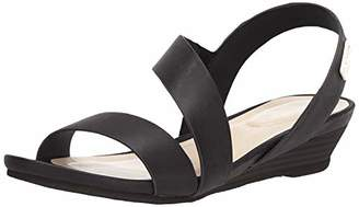 Kenneth Cole Reaction Women's Asymmetrical Strap Low Wedge Sandal