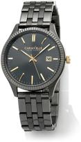 Caravelle New York by Bulova Unisex 2-Tone Stainless Steel Bracelet Watch