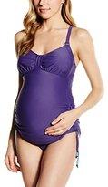 Cake Lingerie Women's Shake Swimwear Tankini Racerback Maternity Tankini,NA (Manufacturer Size:X-Large))