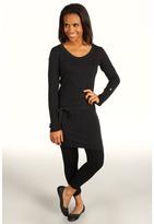 Lole Imagine Tunic Dress (Black Heather) - Apparel