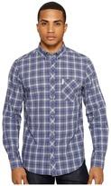 Ben Sherman Long Sleeve Tartan Shirt Men's Clothing