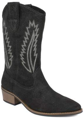 White Mountain Footwear Caraway Leather Western Cowboy Boot