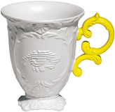 Seletti I-Wares Porcelain Mug - Yellow