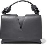 Jil Sander Cutout leather tote