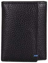 John Lewis Leather Keyring Case, Black