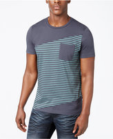 INC International Concepts Men's Colorblocked Striped T-Shirt, Created for Macy's