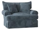 """Paula Deen Home Chalkline 31"""" Armchair Home Body Fabric: Aberdeen 22, Throw Pillow Fabric: Aberdeen 22, Arm Covers: Yes"""