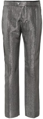 Chloé Metallic straight-leg pants