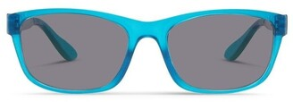 Dresden Vision Azure Blue UV Protected Polarised Sunglasses with Grey Tint