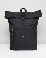 Jack and Jones Backpack With Roll Top