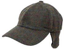 Peter Grimm Deveon Plaid Wool Baseball Cap
