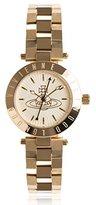 Vivienne Westwood Women's VV092GD Westbourne Analog Display Swiss Quartz Gold Watch