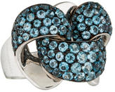 Chimento Blue Topaz Infinity Ring w/ Tags