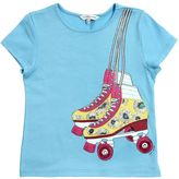 Little Marc Jacobs Rollerblades Print Cotton Jersey T-Shirt