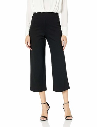 Trina Turk Women's Media Pull On Wide Cropped Pant