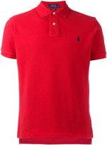 Polo Ralph Lauren logo embroidery polo shirt - men - Cotton - S