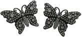 Gucci Silver Crystal Earrings