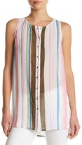 KUT from the Kloth Miwa Stripe Tunic