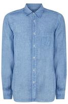 120% Lino Faded Linen Shirt
