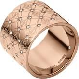 Michael Kors MKJ4289 MKJ428991 Heritage Monogram Ring