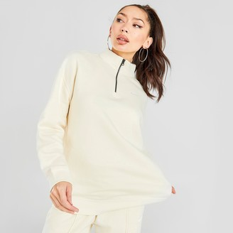 Nike Women's Sportswear Trend Quarter-Zip Fleece Sweatshirt