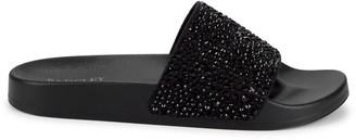 Badgley Mischka Hywel Embellished Slides