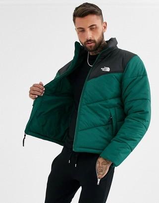The North Face Saikuru puffer jacket in green