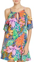 Trina Turk Tropical Escape Tunic Swim Cover-Up