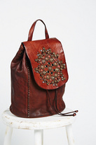 Campomaggi Womens SACRA STUDDED BACKPACK