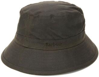 Barbour Stitch Detail Bucket Hat