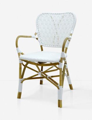 Lulu & Georgia Susanna Chair, Natural and White