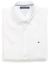 Tommy Hilfiger Final Sale- New York Fit Short Sleeve Shirt