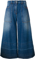 Love Moschino denim culottes - women - Cotton - 38