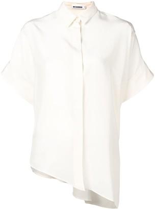 Jil Sander Asymmetrical Hemmed Shirt
