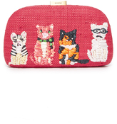 Serpui Marie Mia Cats Clutch