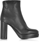 See by Chloe Black Leather Platform Boot