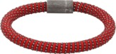 Carolina Bucci Red Twister Band Bracelet
