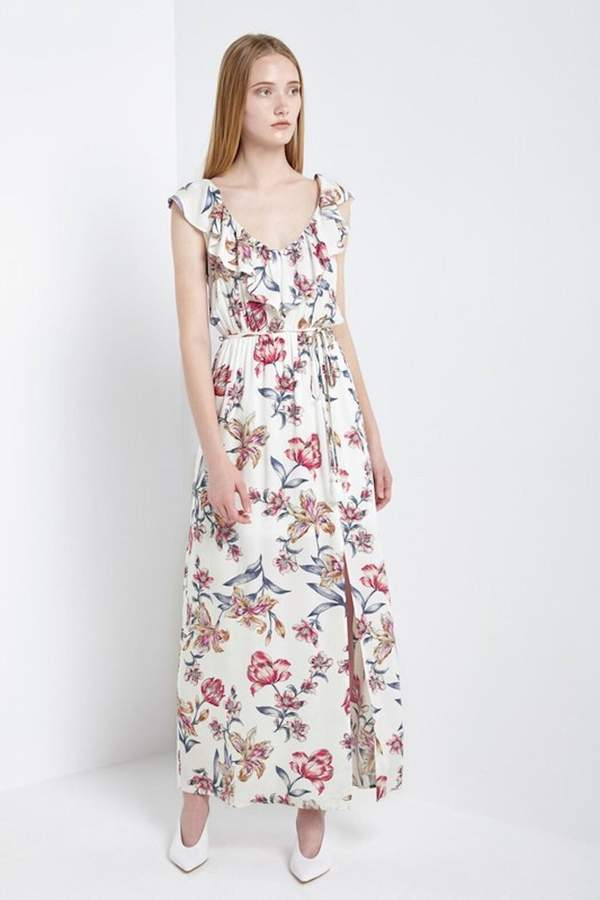 4c563c2f6584 Floral Dress Red White And Blue - ShopStyle UK