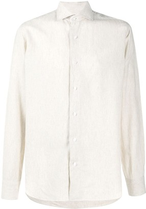Barba Textured Linen Shirts