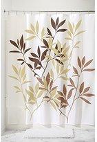 """InterDesign Anzu Fabric Shower Curtain - 72"""" x 72"""", Brown"""