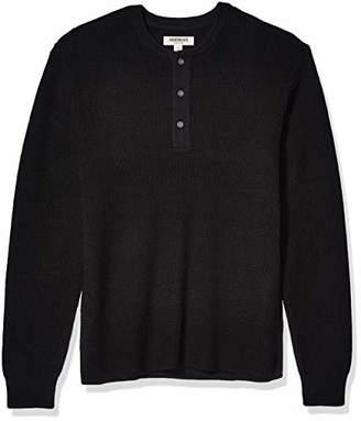 Goodthreads Soft Cotton Henley Sweater(EU M)