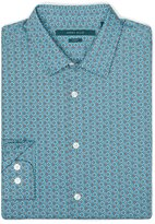 Perry Ellis Slim Fit Geo Floral Shirt