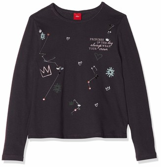S'Oliver Girl's 53.811.31.8334 Long Sleeve Top