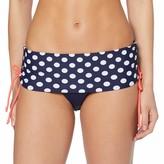Damen Mini Maxi Fold Over Brief Bikinihose Pour Moi