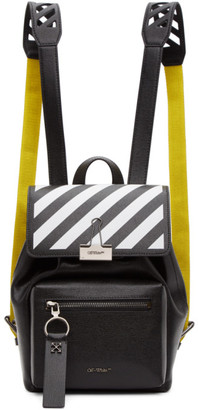 Off-White Black Diag Backpack