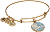 Alex and Ani Blue Special Delivery Charm Bangle Bracelet