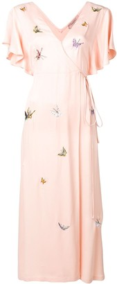 Twin-Set Embroidered Butterfly Dress