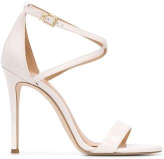MICHAEL Michael Kors Twist-Strap Heeled Sandals