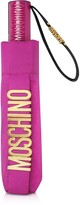 Moschino New Metal Logo Open/close Umbrella