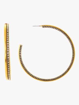Erickson Beamon Breaker Of Chains Hoop Earrings